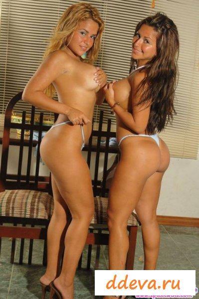 Непоседливые жопастые близняшки