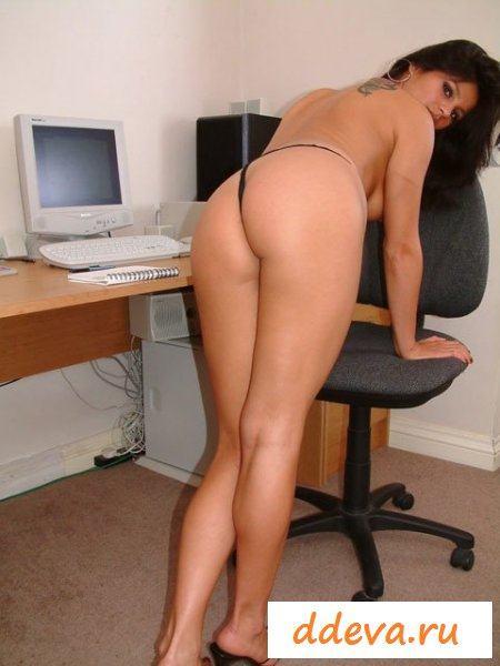 Горячая латинская секретарша