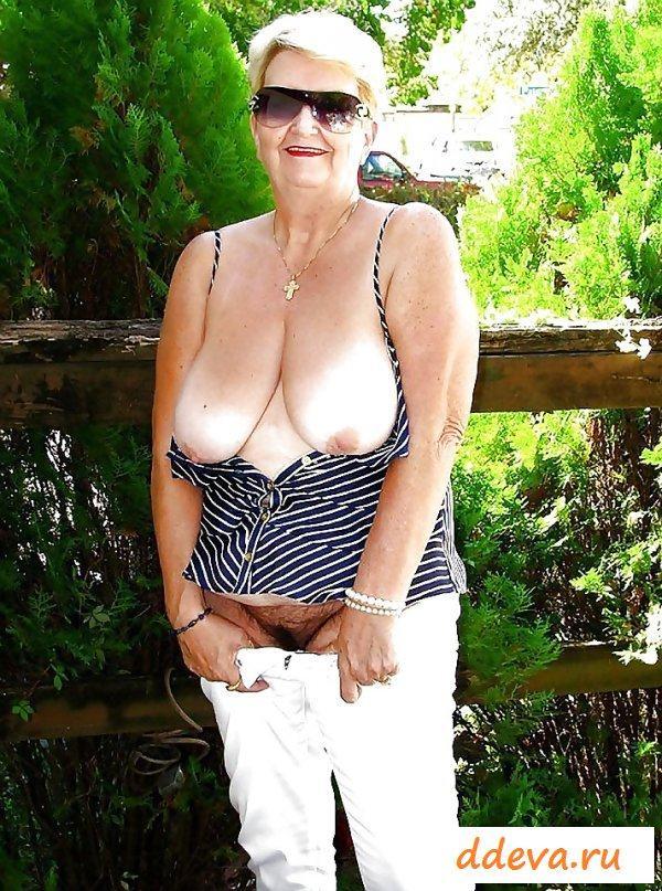 Горячие прелести голых бабулек