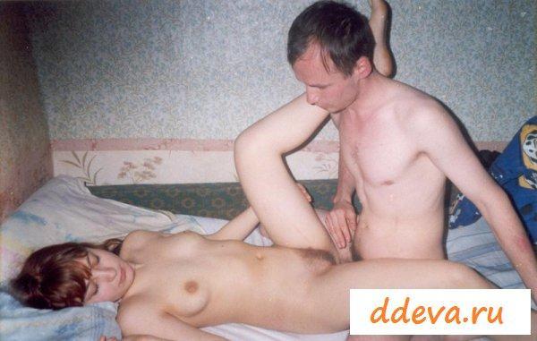 Голые развратники в ретро порно